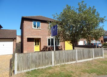 Thumbnail 3 bed detached house to rent in Dereham Road, Costessey, Norwich