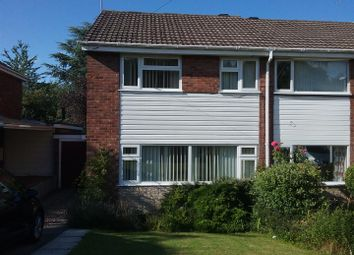 Thumbnail 3 bed semi-detached house for sale in Wesley Drive, Ketley Bank, Telford