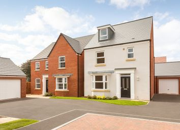 "Thumbnail 4 bedroom detached house for sale in ""Bayswater"" at Wookey Hole Road, Wells"