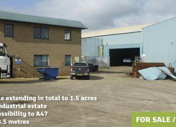 Thumbnail Warehouse for sale in Greens Road, Yaxham Industrial Estate, Dereham