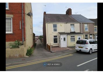 Thumbnail 2 bed end terrace house to rent in Bersham Road, New Broughton, Wrexham