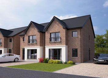 Thumbnail 3 bed semi-detached house for sale in Plantation Mews, Plantation Drive, Carrickfergus