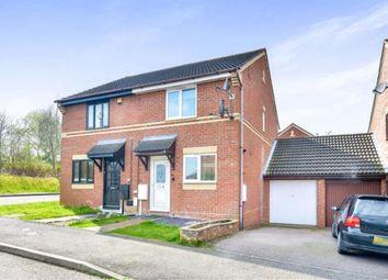 Thumbnail 2 bedroom semi-detached house for sale in Sweetlands Corner, Kents Hill, Milton Keynes
