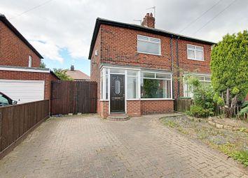 Thumbnail 2 bed semi-detached house for sale in Lambley Crescent, Hebburn