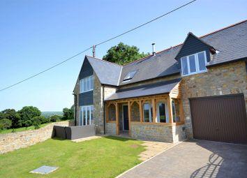 Thumbnail 4 bed detached house for sale in Ash Farm Close, Salway Ash, Bridport