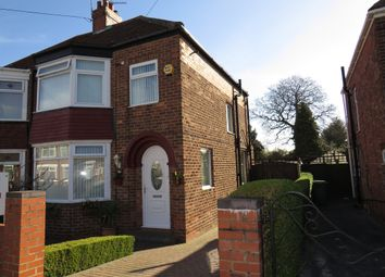 Thumbnail 3 bed semi-detached house for sale in Bernadette Avenue, Anlaby Common, Hull