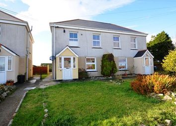 Thumbnail 2 bed semi-detached house for sale in Crellow Hill, Stithians, Truro