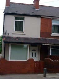 Thumbnail 2 bed end terrace house to rent in Ackworth Road, Featherstone, Pontefract