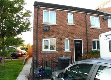 Thumbnail 3 bed end terrace house to rent in Waterside View, Conisbrough, Doncaster