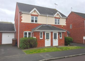 Thumbnail 2 bed end terrace house for sale in Avon Way, Hilton, Derby