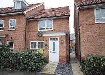 Thumbnail 2 bed town house for sale in Goldstraw Lane, Fernwood, Newark, Nottinghamshire.