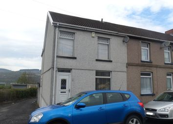 Thumbnail 3 bed end terrace house for sale in Queens Road, Thomastown, Merthyr Tydfil