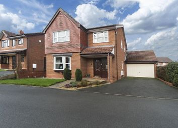 Thumbnail 4 bed detached house for sale in Spring Meadows Close, Codsall, Wolverhampton