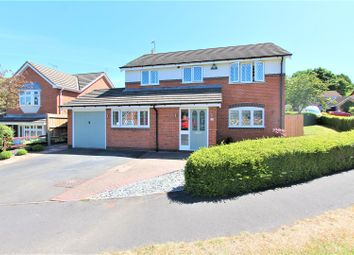 Thumbnail 5 bed detached house for sale in Pulford Drive, Thurnby, Leicester