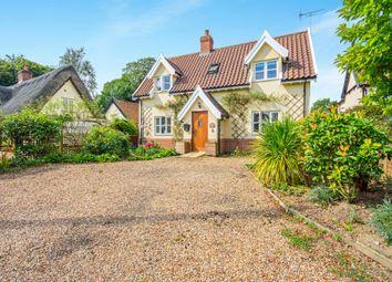 Thumbnail 2 bedroom cottage for sale in Doctors Lane, Stradbroke, Eye