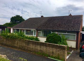 Thumbnail 2 bed semi-detached bungalow for sale in Cloverfield Gardens, Little Sutton, Ellesmere Port