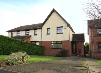 Thumbnail 3 bedroom semi-detached house for sale in 23 Redcroft Street, Danderhall, Dalkeith