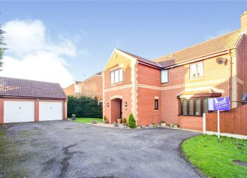 Thumbnail 5 bed detached house for sale in The Heyes, Ravenshead, Nottingham