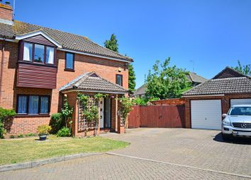 Thumbnail 4 bed semi-detached house for sale in Ryall Close, Bricket Wood, St. Albans