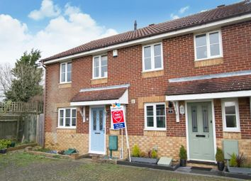 Thumbnail 2 bed terraced house for sale in Gray Close, Hawkinge, Folkestone
