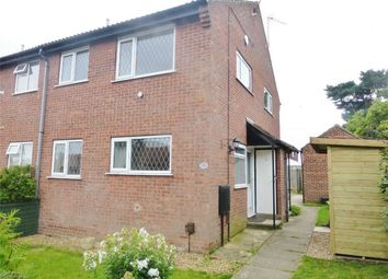 Thumbnail 1 bed end terrace house to rent in Gresley Court, Beckfield Lane, Acomb, York