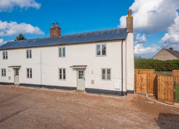Thumbnail 3 bed semi-detached house for sale in Newton, Sudbury, Suffolk