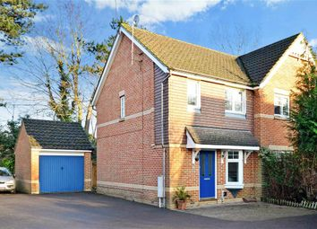 Thumbnail 2 bed semi-detached house for sale in Cloverfields, Horley, Surrey