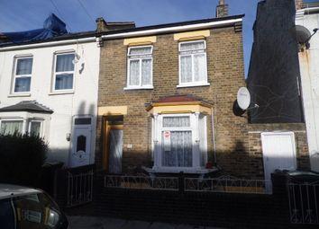 Thumbnail 2 bedroom end terrace house for sale in Argyle Road, Tottenham