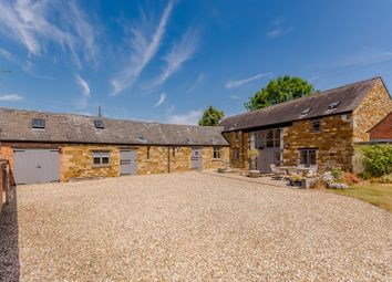 Thumbnail 5 bed barn conversion for sale in Barnsdale, Great Easton, Market Harborough, Leicestershire