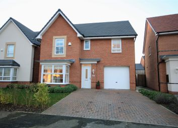Thumbnail 4 bed detached house for sale in Burghley Close, Washington