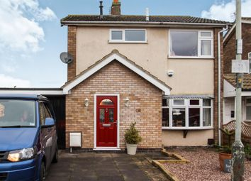 Thumbnail 3 bed detached house for sale in Saddlers Close, East Goscote, Leicester