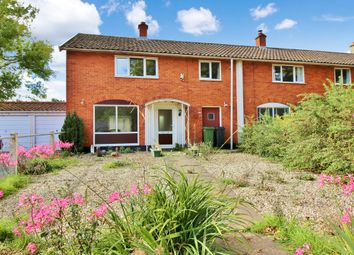 Thumbnail 3 bed terraced house for sale in Church Road, Bergh Apton, Norwich