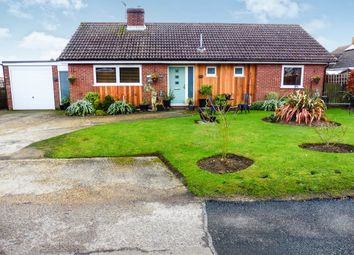 Thumbnail 3 bed detached bungalow for sale in Coldham Lane, Gislingham, Eye
