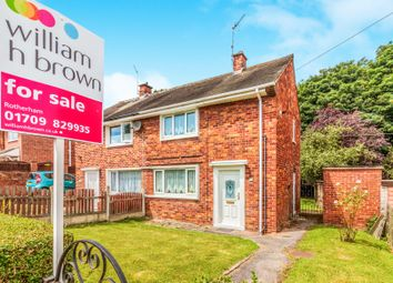 Thumbnail 2 bed semi-detached house for sale in Studmoor Road, Rotherham