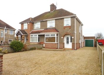 Thumbnail 3 bed semi-detached house for sale in Ormesby Road, Caister-On-Sea, Great Yarmouth