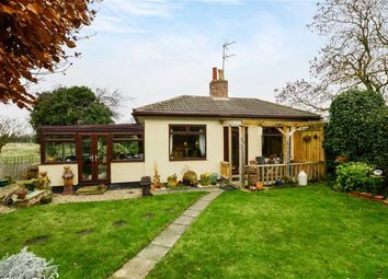 Thumbnail 2 bed detached bungalow for sale in Bewholme Lane, Seaton, East Yorkshire