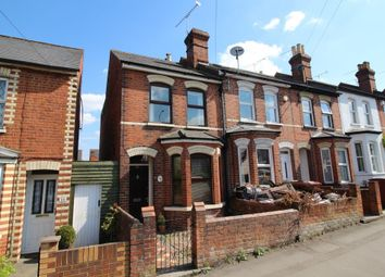 Thumbnail 3 bedroom end terrace house for sale in Grovelands Road, Reading