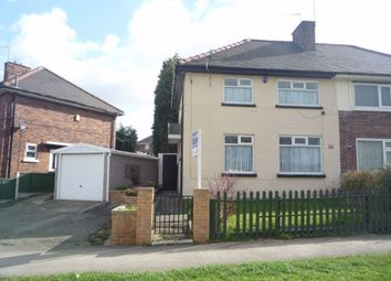 Thumbnail 3 bed semi-detached house to rent in Herringthorpe Valley Road, Rotherham, South Yorkshire