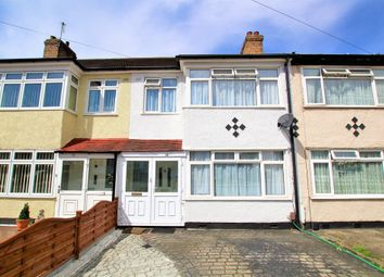Thumbnail 3 bed terraced house to rent in Lynton Avenue, Romford