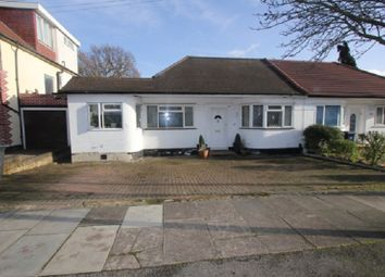 Thumbnail 3 bed semi-detached bungalow for sale in Highview Gardens, Edgware, Middx.
