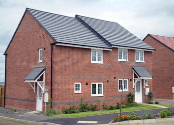 "Thumbnail 3 bedroom end terrace house for sale in ""Barwick"" at Morgan Drive, Whitworth, Spennymoor"