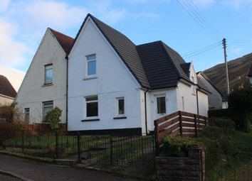 Thumbnail 3 bed semi-detached house for sale in Cobbler View, Arrochar, Argyll And Bute