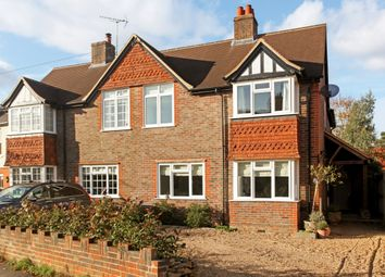 Thumbnail 4 bed semi-detached house to rent in Duncombe Road, Godalming