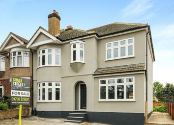 Thumbnail 4 bed semi-detached house for sale in Shepherds Hill, Harold Wood