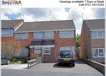 Thumbnail 3 bedroom terraced house to rent in Hazelwell Crescent, Stirchley, Birmingham