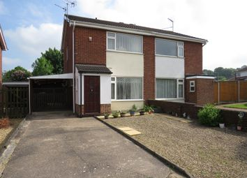 Thumbnail 2 bed semi-detached house for sale in Windsor Drive, Grantham