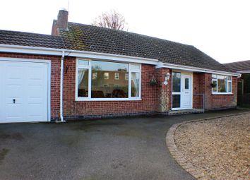 Thumbnail 2 bed detached bungalow for sale in Glen Drive, Oakham