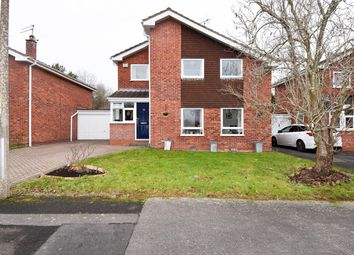 Thumbnail 4 bed link-detached house for sale in Kimberley Close, Redditch