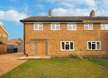 Thumbnail 3 bed semi-detached house to rent in West Street, Comberton, Cambridge