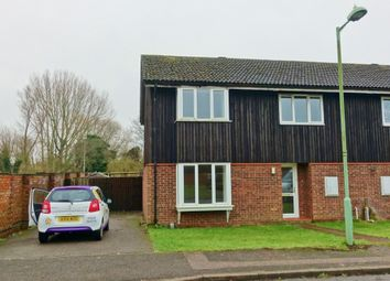 Thumbnail 4 bedroom semi-detached house to rent in Mill Reef Close, Newmarket